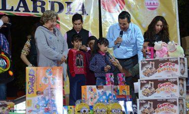Ayuntamiento inicia festejos navideños en colonias y comunidades de la capital