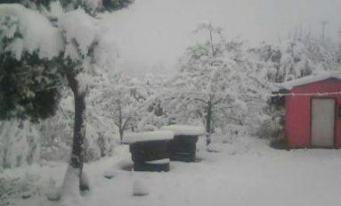 Suspenden clases por nevadas en ocho municipios en Durango