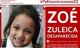 """A un año del rapto """"Acto de Memoria"""" por Zoé Zuleica, desde el sitio donde desapareció"""