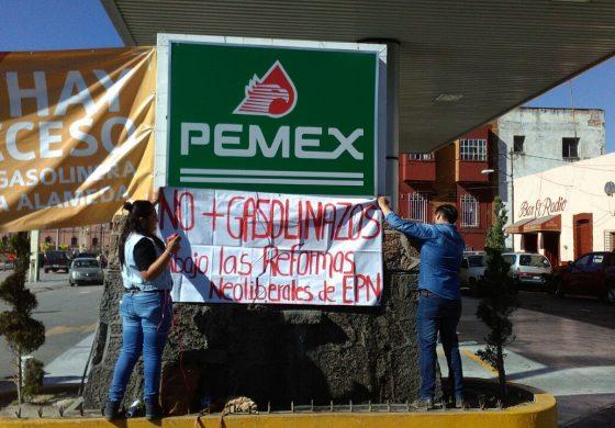 Acciones de vandalismo son inducidas por el gobierno: #YOSOY132SLP