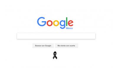 Google se 'viste' de luto tras ataque en colegio de Monterrey