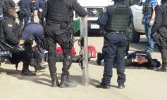 Desalojo en planta de Pemex: policías atropellados, periodistas y agentes heridos, 30 detenidos