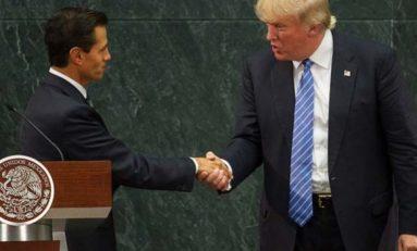Peña Nieto y Trump se reunirán el 31 de enero: Casa Blanca