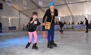 Favorable aceptación pista de patinaje sobre hielo