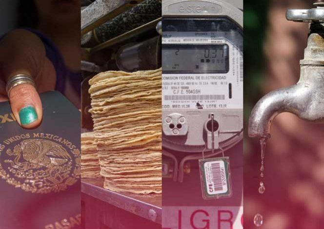 En 3 días aumentan gasolina, gas LP, luz, tortillas, pan…