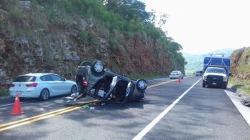 PME Investiga Accidente en Ébano donde Fallece Conductor