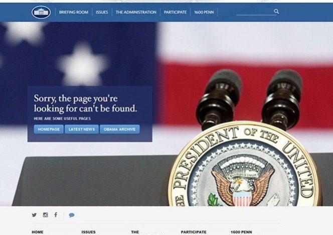 Casa Blanca retira contenido en español