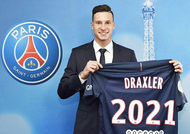 PSG presenta oficialmente a Julian Draxler