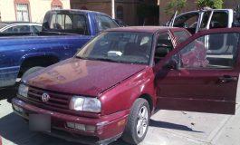 Recuperan un vehículo abandonado con reporte de robo