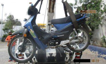 Recuperan Dos Motocicletas Robadas, Un Detenido