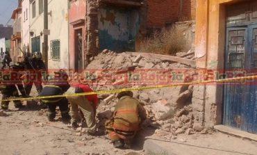 Derrumbe de Finca en Zona Centro