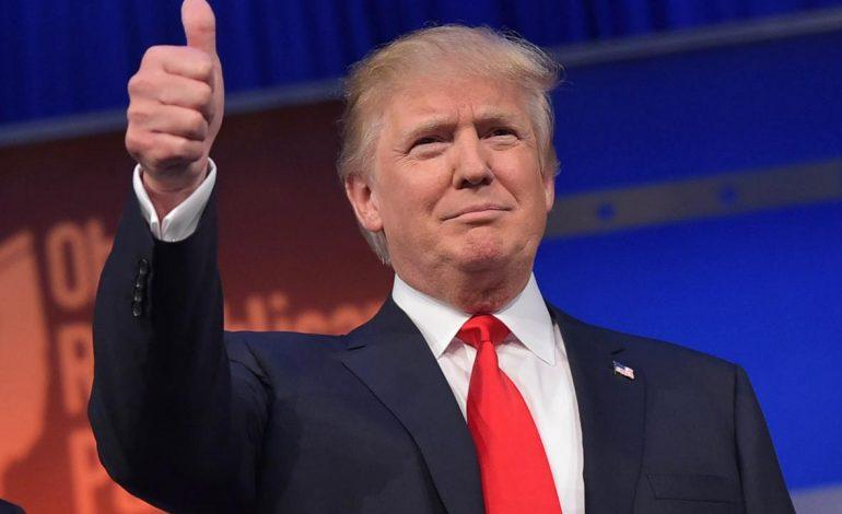 Trump ofrece primer conferencia como presidente electo de EU