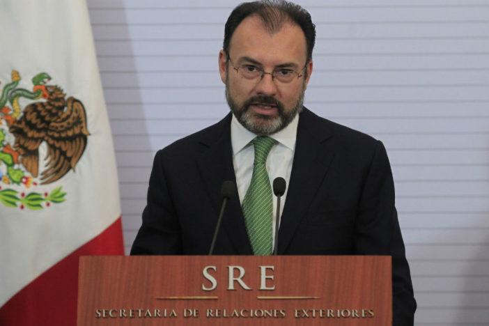 Cometimos errores pero Trump tenía que venir a México: Videgaray