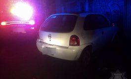 Adolescente detenido por ser presunto responsable de robo de vehículo