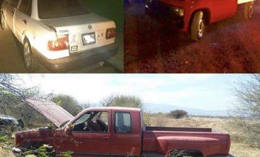 Recuperan Tres Vehículos con Reporte de Robo