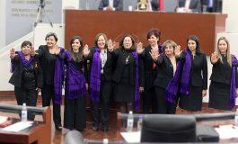 Diputadas coadyuvarán para garantizar una vida libre de violencia a las mujeres