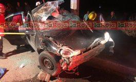 Muere prensado en su vehículo tras accidentarse en Soledad