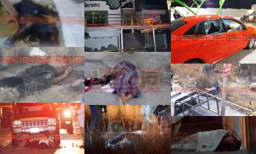 Siete asesinatos del 31 de enero al seis de febrero