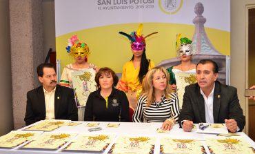 """Organiza Ayuntamiento """"Carnaval San Luis Potosí 2017"""""""