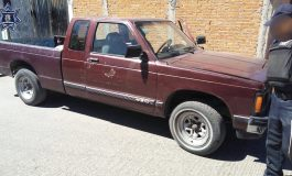DGSPM localiza camioneta con reporte de robo
