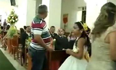 Graba balacera en iglesia; sujeto balea a invitados a boda