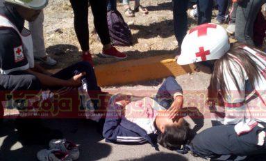 Auto Arrolla a Menor en Carretera a Matehuala