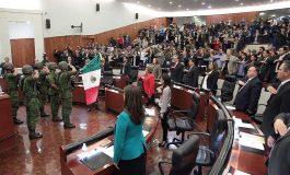 Congreso del Estado Conmemoró Centésimo Aniversario de la Constitución Mexicana