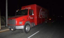 Policías de Zaragoza detienen a conductor de Coca Cola