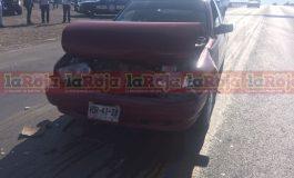 Choque por Alcance en Carretera a Rioverde y Libramiento