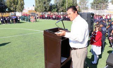 Inaugura alcalde RGJ primeros Juegos Juveniles Municipales