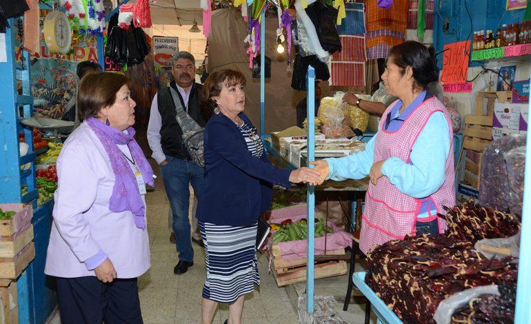 Comerciantes reconocen mantenimiento a Mercado Hidalgo