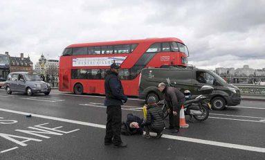 Tiroteo cerca del Parlamento británico deja varios heridos