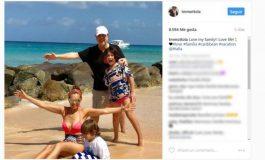 Tommy Mottola muestra el rostro de sus hijos con Thalía