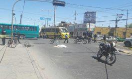 Ciclista Muere Atropellado en Avenida de la Paz y Eje Vial