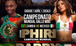 El Zócalo albergará pelea entre 'Barbie' Juárez y Catherine Phiri