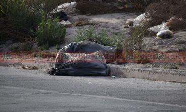 Dejan dos cabezas humanas frente a la policía ministerial; una de mujer