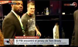 Encuentran en México el Jersey Robado a Tom Brady