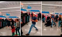 Familia Agrede a Golpes a Elementos de Seguridad de Supermercado por Llamarle la Atención a su Hija