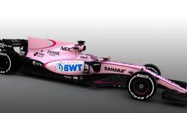 "El Force India 2017 de ""Checo"" Pérez Será Rosa"