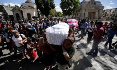 Sube a 40 número de niñas fallecidas por incendio en Guatemala