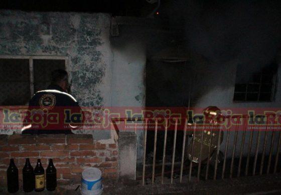 Abuelito le Prende Fuego a su Colchón en el Barrio de Tlaxcala