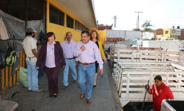 Regidores capitalinos destacan labor en beneficio de mercados municipales