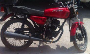Ministerial Recupera en Cedral Motocicleta con Reporte de Robo