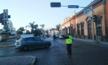 Alistan operativo vial en Zona Centro por Semana Santa