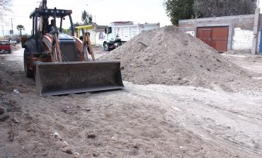 En rehabilitación el camino de Pozos a Ciudad Satélite