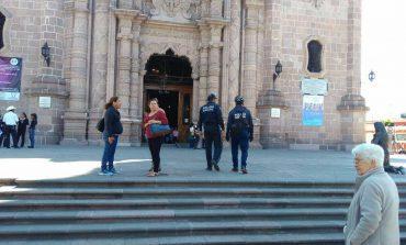 Reforzarán Seguridad en Zona Centro Durante Semana Santa