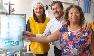 Inaugura Ricardo Gallardo purificadora en los Vergeles