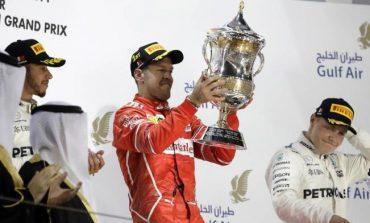 Vettel logra su segundo triunfo en el GP de Bahrein