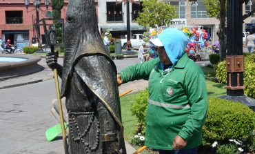 Ayuntamiento intensifica trabajos de mantenimiento en centro histórico