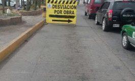Por obras anuncian cierres viales en Juan del Jarro